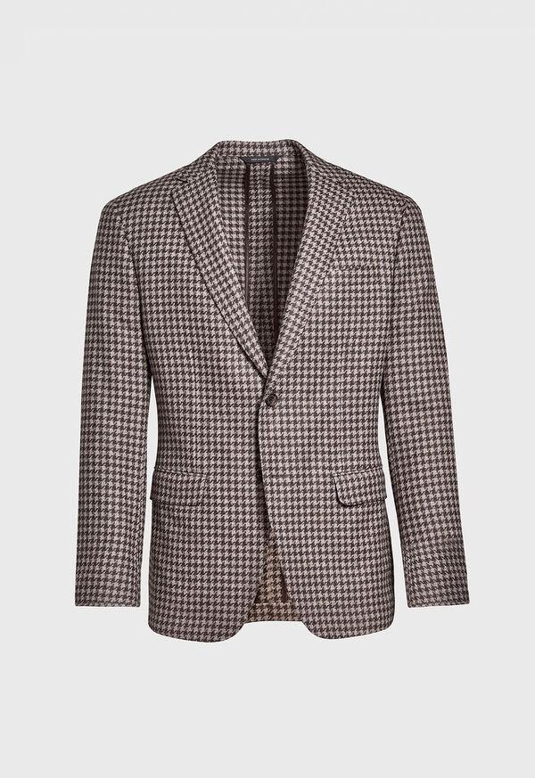 Taupe Houndstooth Sport Jacket, image 1
