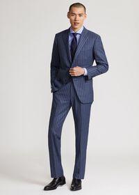 Paul Fit Chalk Stripe Super 120s Wool Suit, thumbnail 5