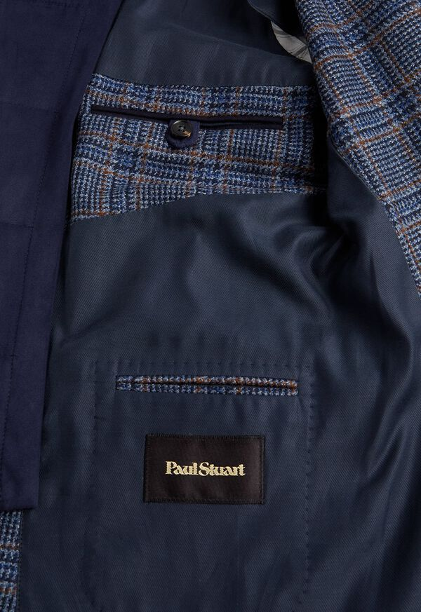 Plaid Travel Jacket and Built-in Vest, image 4