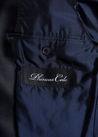Denim Single Breasted Formal Jacket, thumbnail 4