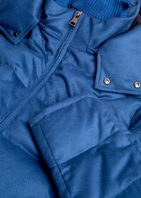 Cashmere Quilted Down Puffer Jacket, thumbnail 5