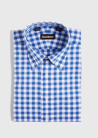 Gingham Cotton Dress Shirt, thumbnail 1