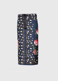 Silk Patchwork Midi Skirt, thumbnail 1
