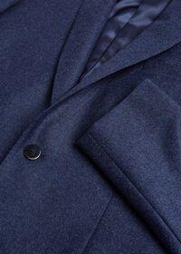Mid Blue Flannel Sport Jacket, thumbnail 2
