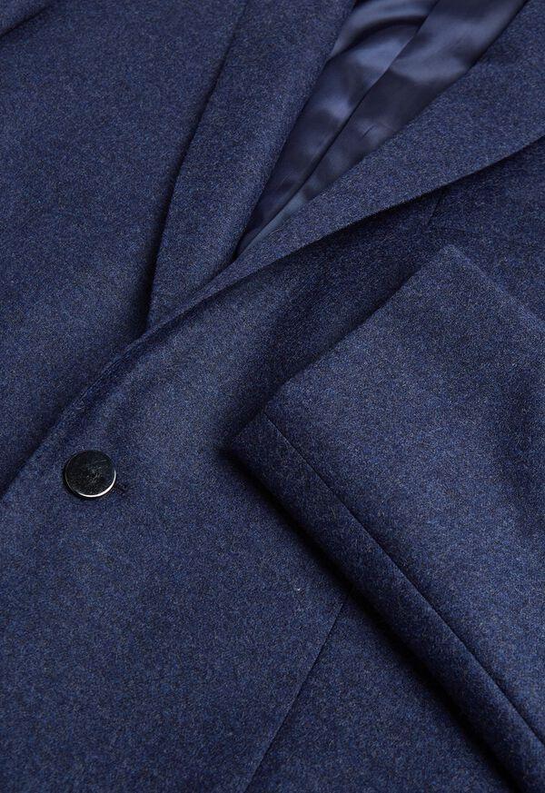 Mid Blue Flannel Sport Jacket, image 2