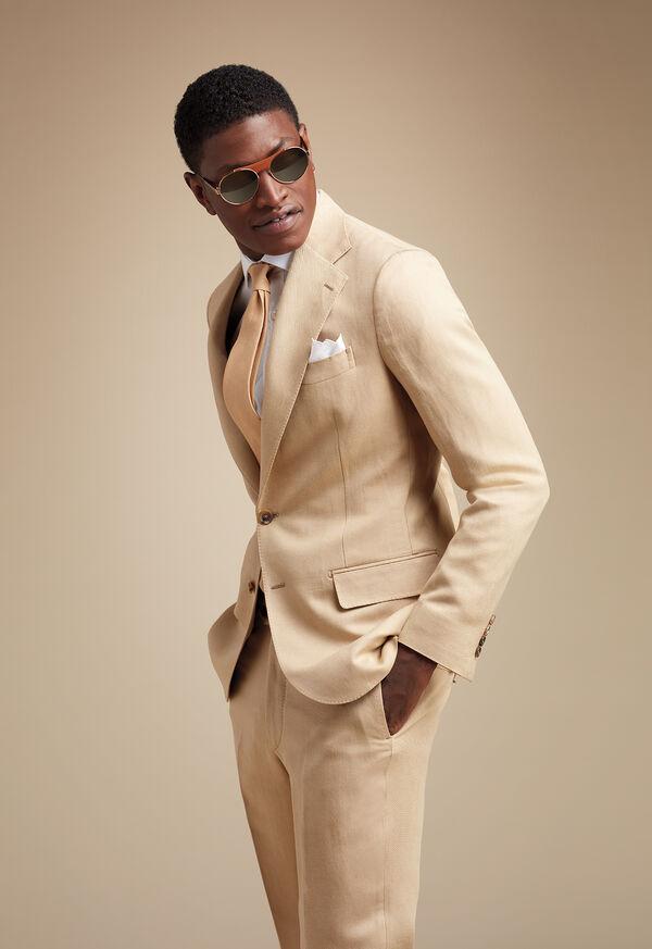 The Tonal Linen Suit Look, image 1