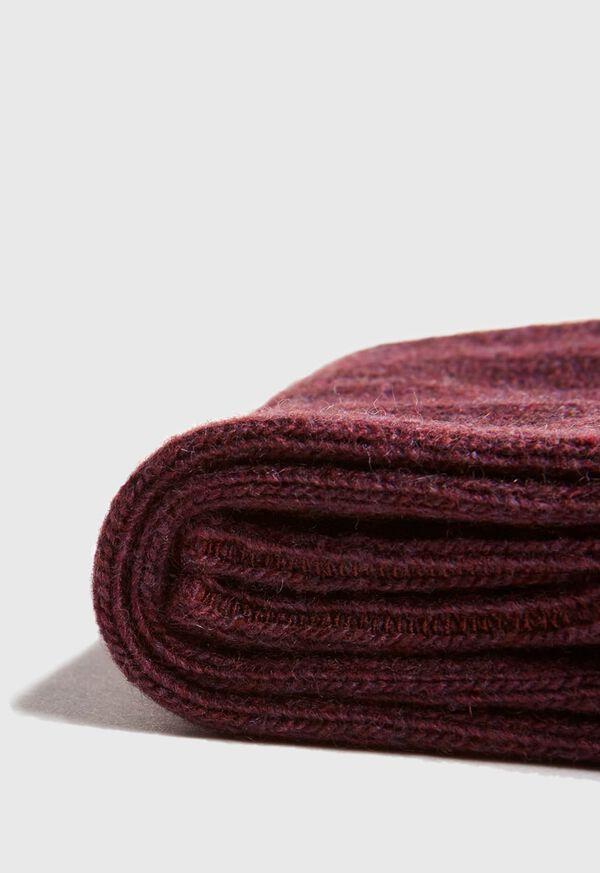 Cashmere Blend Ribbed Sock, image 2
