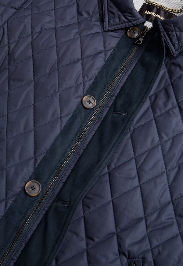 Diamond Quilted Barn Coat, image 3