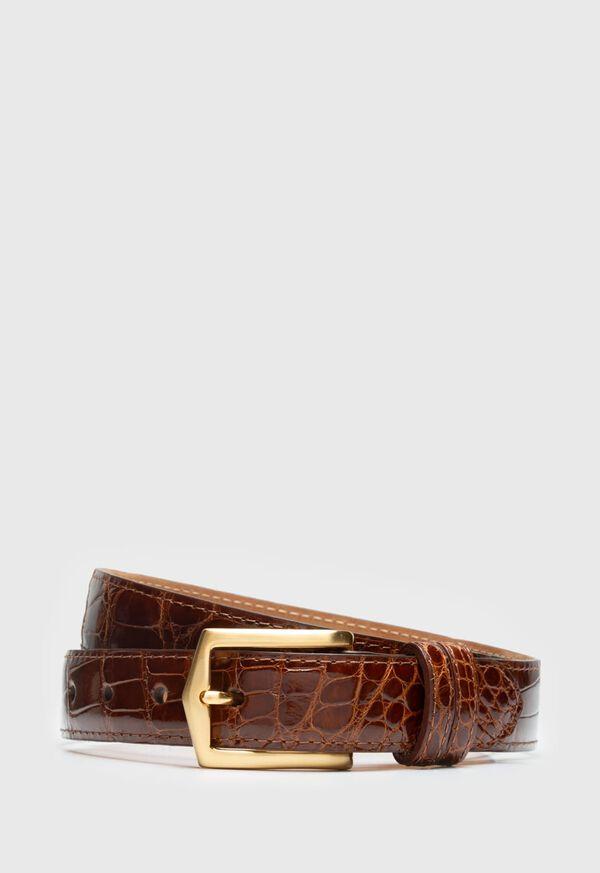 Glazed Alligator Belt, image 1