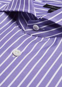Oxford Wide Stripe Dress Shirt, thumbnail 2