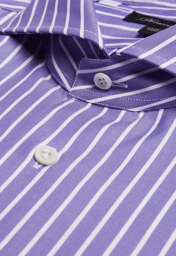 Oxford Wide Stripe Dress Shirt, image 2