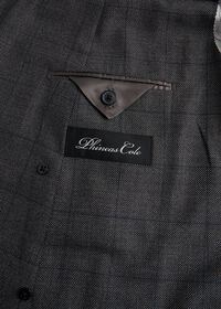 Grey Nailhead Double Breasted Suit, thumbnail 4