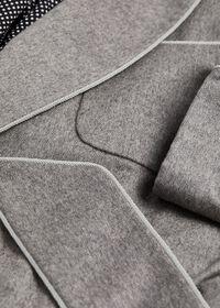 Cashmere Herringbone Robe, thumbnail 2