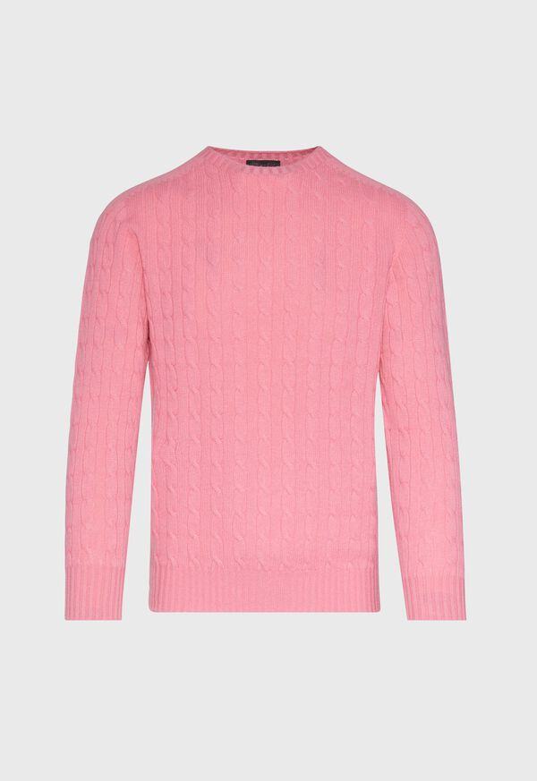 Cable Knit Pullover Sweater, image 1