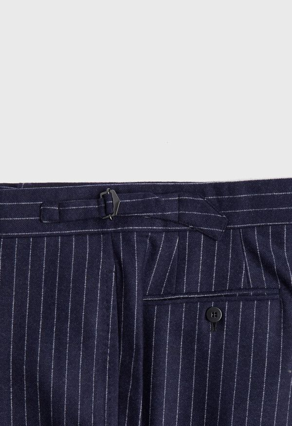 Navy Stripe Suit, image 7