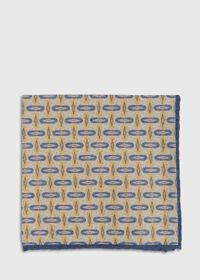 Vintage Deco Print Pocket Square, thumbnail 2