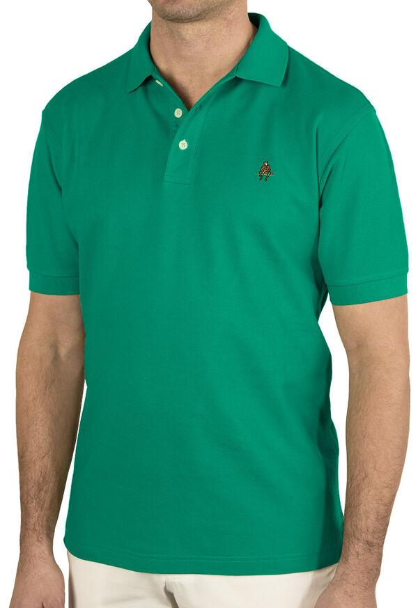 Cotton Pique Logo Polo, image 3
