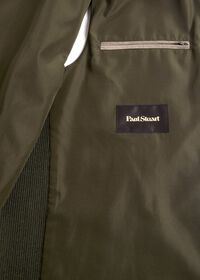 Performance Wool Vest With Suede Trim, thumbnail 3