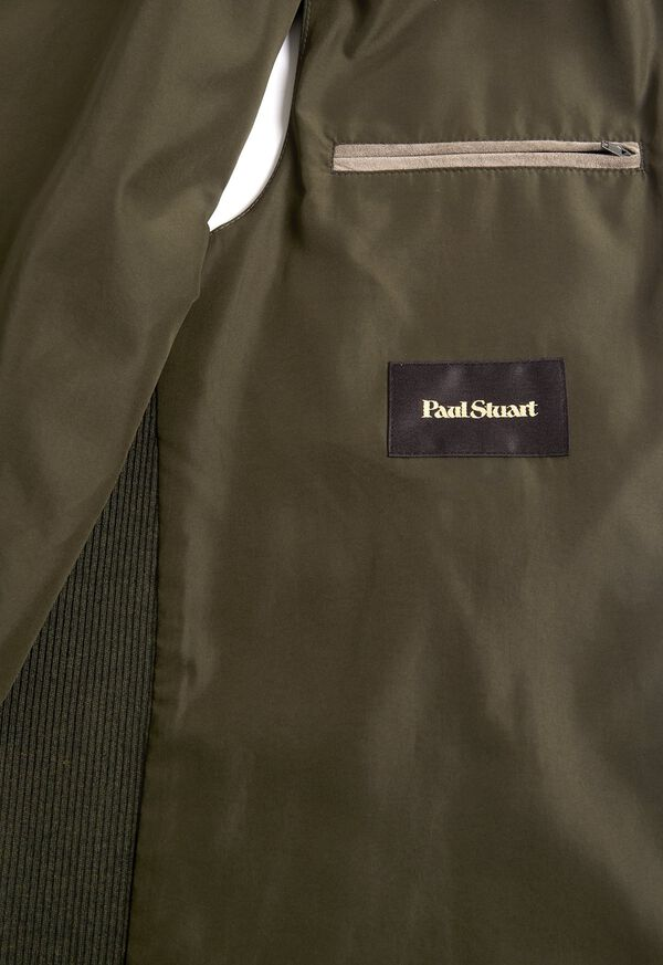 Performance Wool Vest With Suede Trim, image 3