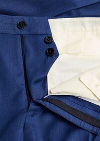 Blue Solid Suit, thumbnail 6
