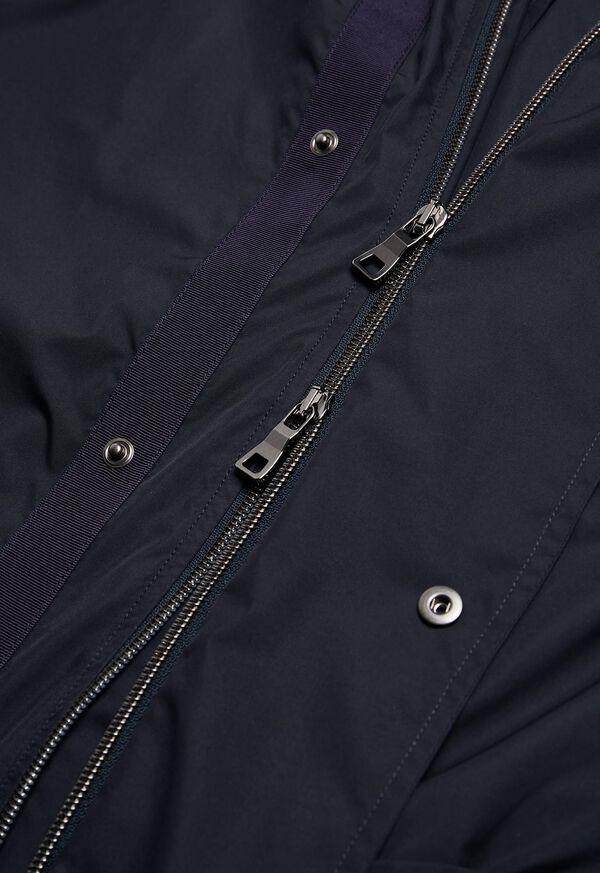 Solid Parka Jacket, image 3