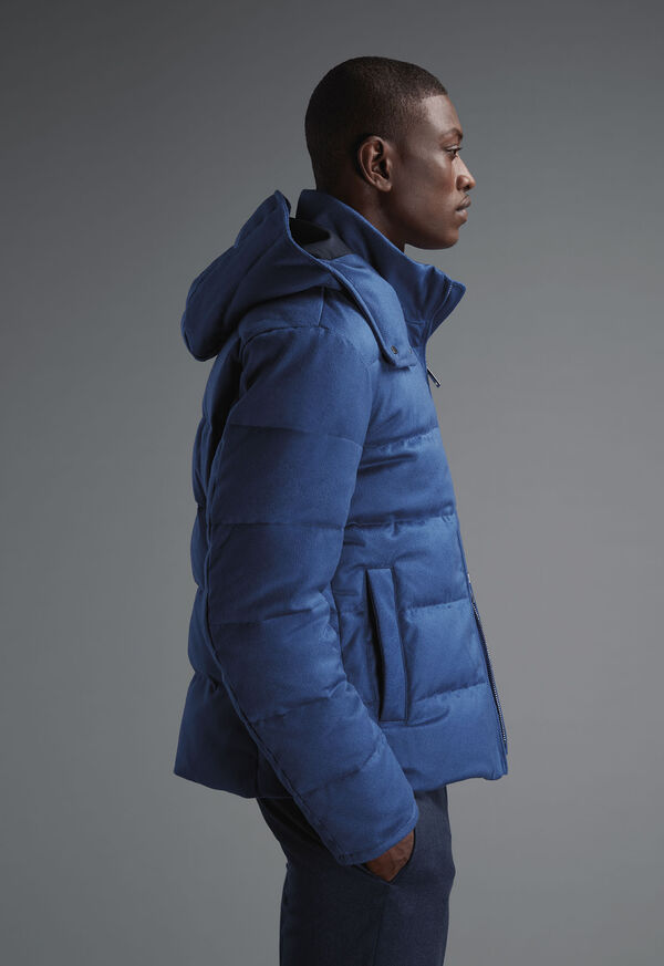 Shop Cashmere Puffer Look, image 1