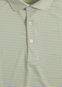 Two Color Stripe Performance Polo, thumbnail 2