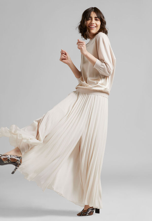 Long Pleated Skirt, image 3