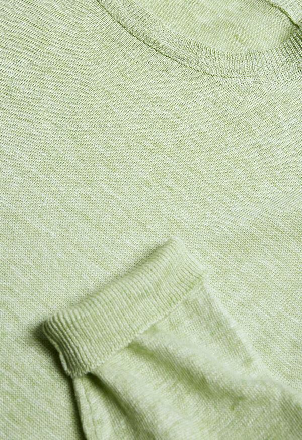 Linen Crewneck Sweater, image 2