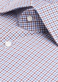 Mini Check Dress Shirt, thumbnail 3