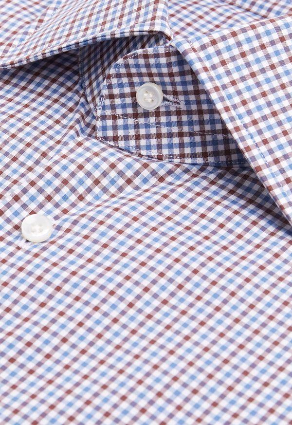 Mini Check Dress Shirt, image 3