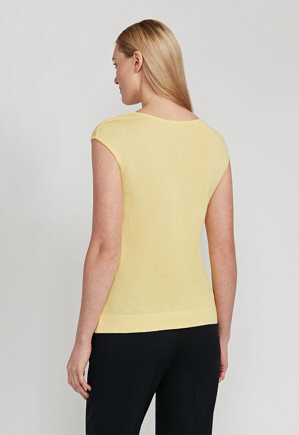 Cap Sleeve Shirt, image 2