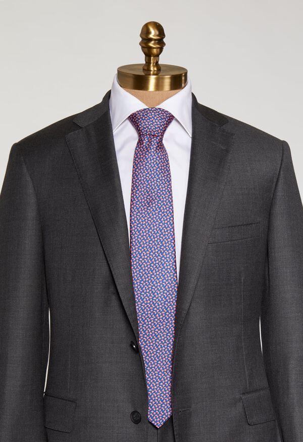 Mini Leaves Silk Tie, image 2
