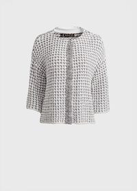 Sweater Jacket with Fringe, thumbnail 1