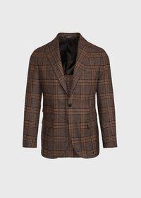 Brown Plaid Sport Jacket, thumbnail 1