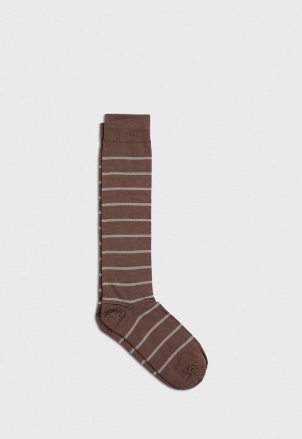 Wool Blend Stripe Sock, image 1