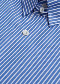 Blue and White Stripe Dress Shirt, thumbnail 3