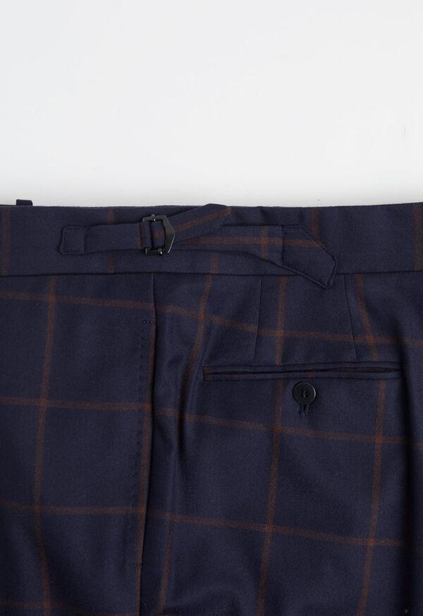 Navy Windowpane Suit, image 7