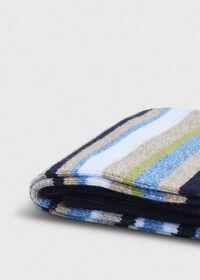 Melange Fine Stripe Crew Sock, thumbnail 2