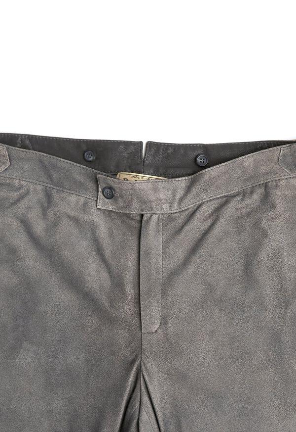 Grey Leather Pant, image 2