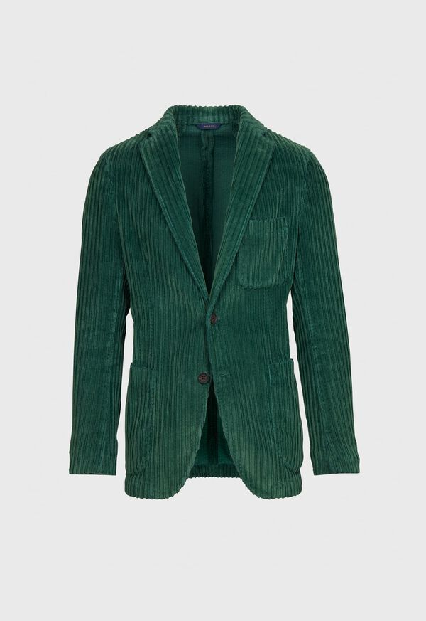 Cotton Wide Wale Corduroy Jacket