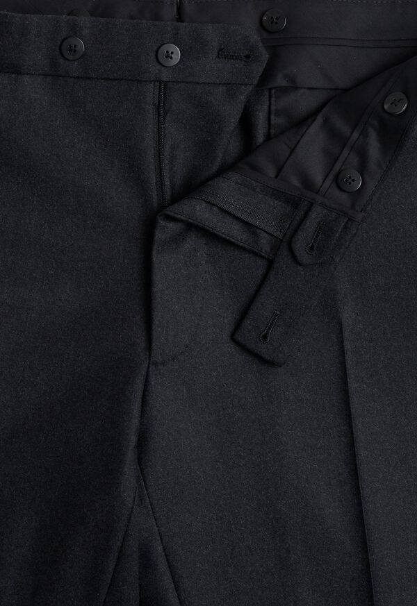 Super 150s Charcoal Double Breasted Suit, image 6