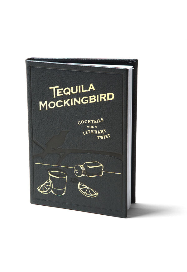 Tequila Mockingbird Leather Covered Book, image 1