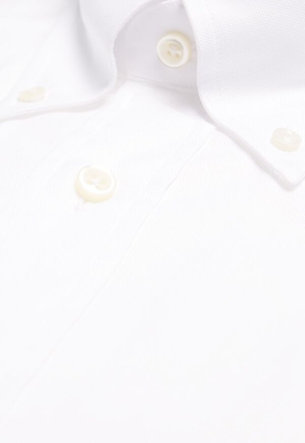 Super 140s Cotton Button Down Collar Dress Shirt, image 2