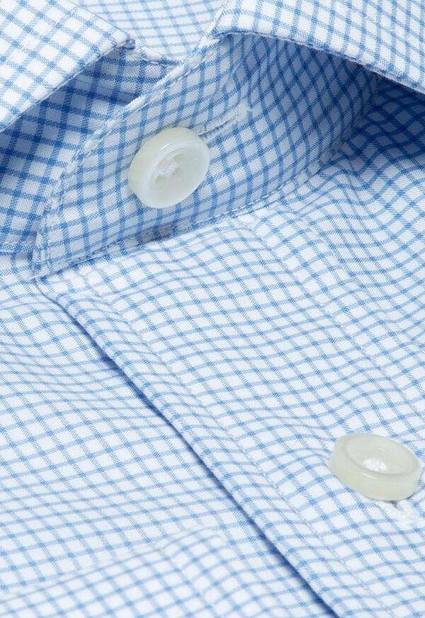 Cotton Graph Check Dress Shirt, image 2