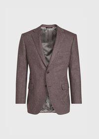 Soft Color Herringbone Sport Jacket, thumbnail 1