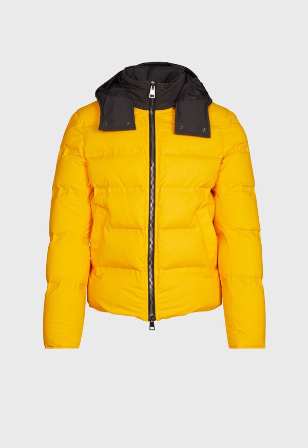 Down Hooded Jacket, image 1