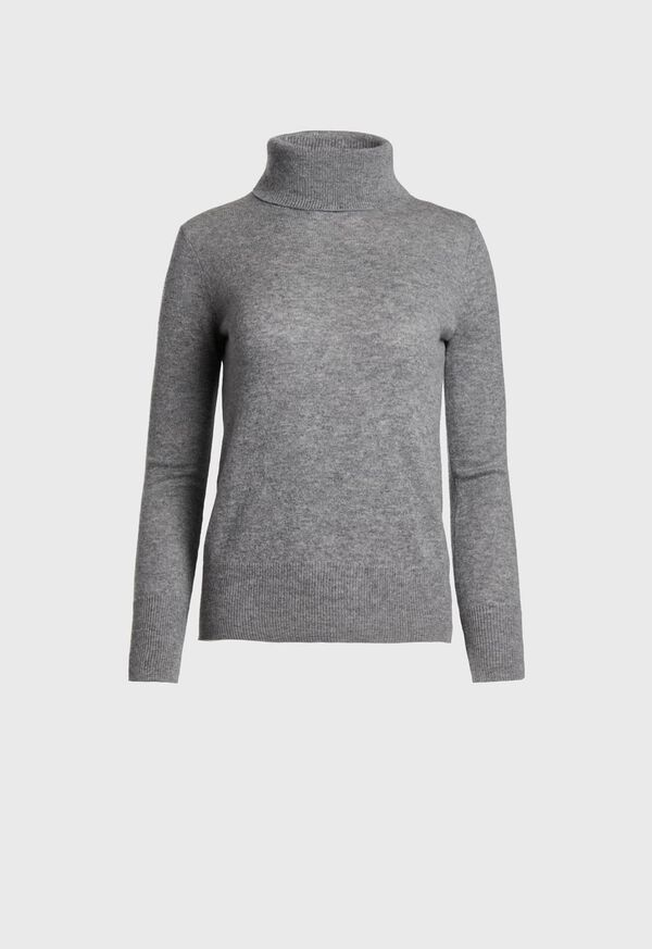 Cashmere Turtleneck Sweater, image 1