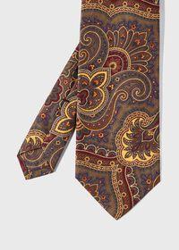 Cotton Flannel Paisley Tie, thumbnail 1