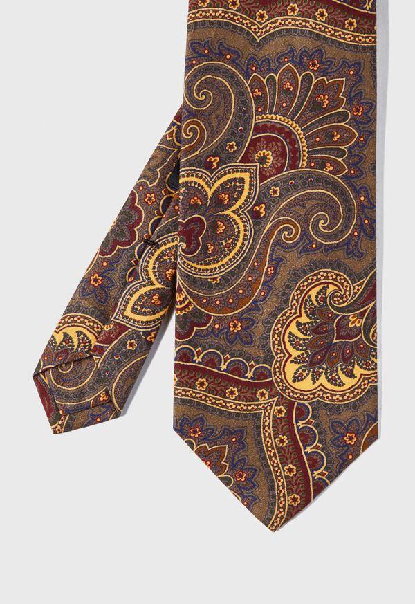 Cotton Flannel Paisley Tie, image 1